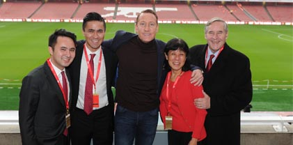 Club VIP Package - Ray Parlour