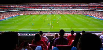 Image result for arsenal fc club arsenal hospitality seat view