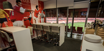 The Captains Lounge - Executive Box Emirates Stadium