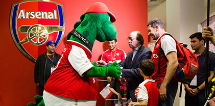 Mathchball - meet Gunnersaurus